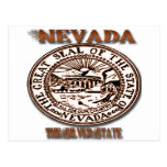 Nevada's Great Seal State Designs Postcards