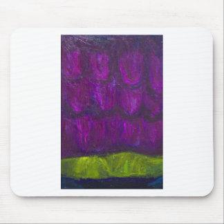 Nevadas púrpuras (expresionismo abstracto del alfombrillas de ratones