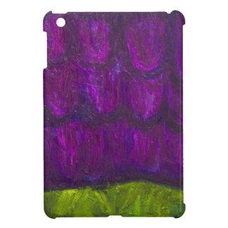 Nevadas púrpuras (expresionismo abstracto del pais iPad mini funda