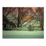 Nevado adentro tarjetas postales