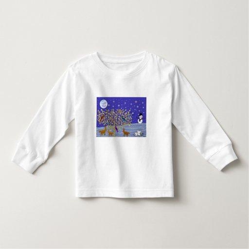 Nevado, camisetas de la noche Nevado Playeras