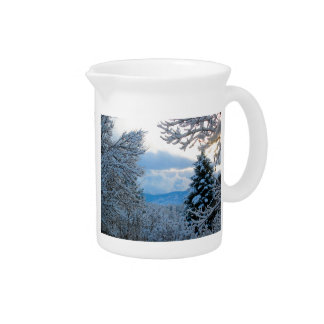 Nevado Colorado Jarrones
