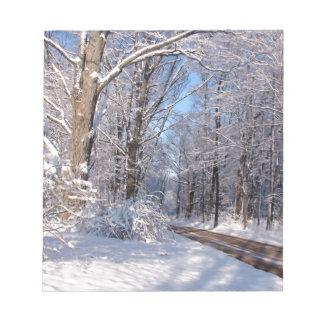 Nevado Michigan rural Libretas Para Notas