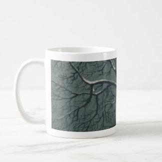 Nevado ramifica taza