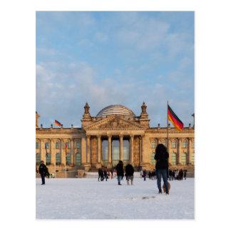 Nevado Reichstag (Reichstag im Schnee) Postal