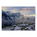 Nevado Snowdonia Felicitación
