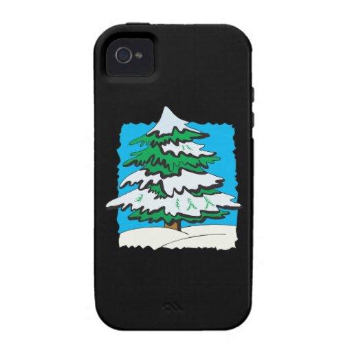 Nevado Tree.png Vibe iPhone 4 Carcasas