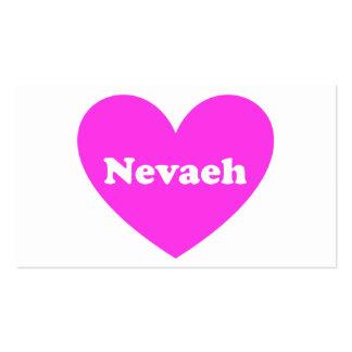 Nevaeh Plantillas De Tarjetas Personales