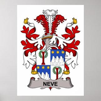 Neve Family Crest Print