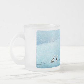 Neve. Fiori. Panda. Tazas De Café