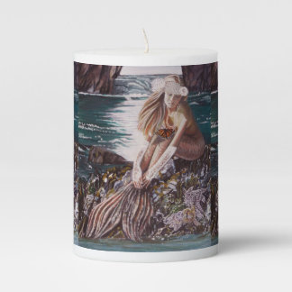Never A Bride Mermaid Candle