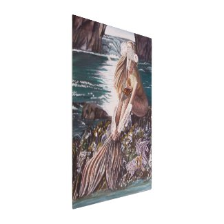 Never A Bride Mermaid Metal Print