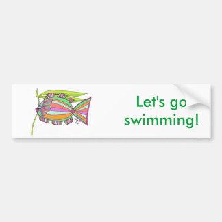 Never a Dull Fish Bumper Sticker