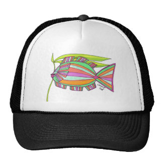 Never a Dull Fish Trucker Hat