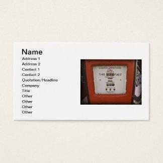 Never Again Business Card