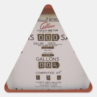 Never Again Triangle Sticker