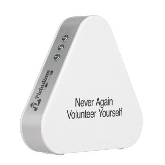 Never Again Volunteer Yourself Speaker