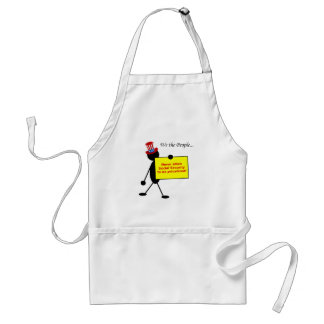 Never Allow Social Security to be Privatized Aprons