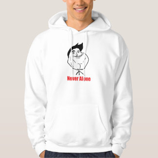 Never Alone - 2-sided Hoodie