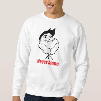 Never Alone - 2-sided Sweatshirt