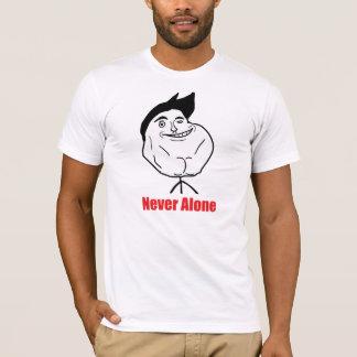 Never Alone - American Apparel T-Shirt