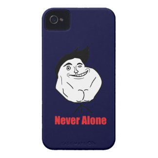 Never Alone - BlackBerry Bold 9700/9780 Case-Mate iPhone 4 Cases