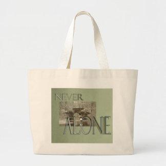 never alone bridge canvas bags