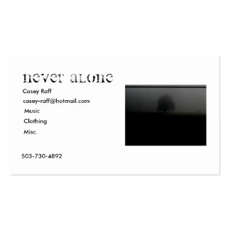 Never Alone Business Cards