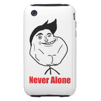 Never Alone - iPhone 3G/3GS Case Tough iPhone 3 Cover