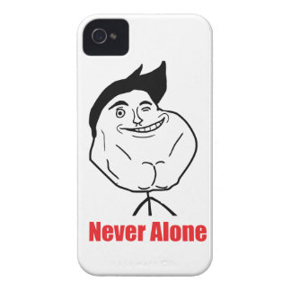 Never Alone - iPhone 4/4S Case