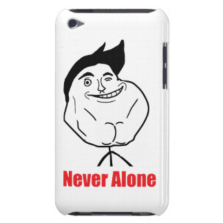 Never Alone - iPod Touch 4 Case Barely There iPod Cases