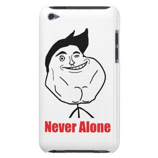 Never Alone - iPod Touch 4 Case iPod Touch Cases