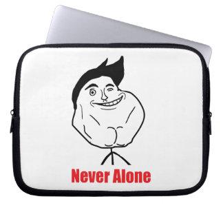 Never Alone - Laptop Sleeve