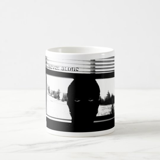 Never Alone magic mug