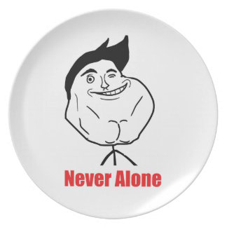 Never Alone - Plate