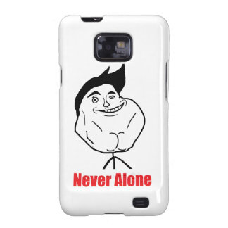 Never Alone - Samsung Galaxy S Case Samsung Galaxy SII Cover