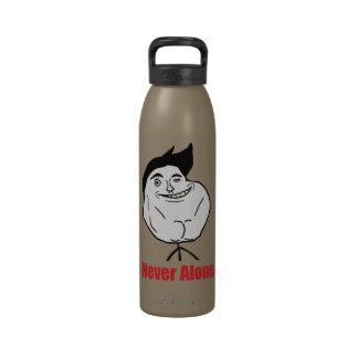 Never Alone - Water Bottle