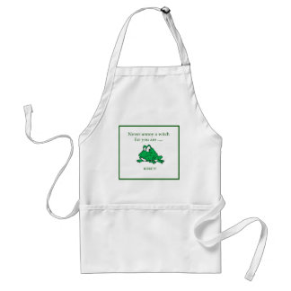 Never annoy a witch aprons