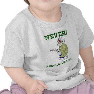 Never Arm-A-Dillo Tees