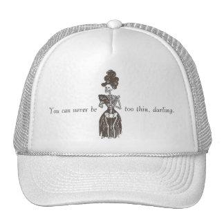 Never Be Too Thin: Satire: Too Skinny Girls Cap Trucker Hat