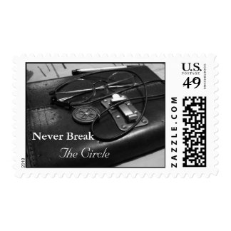 Never Break The Circle Postage Stamps