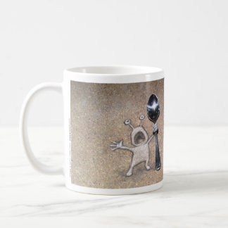 never bring a spoon to a forkfight classic white coffee mug