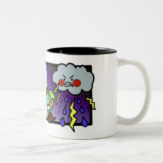 Never Cloudy Two-Tone Coffee Mug