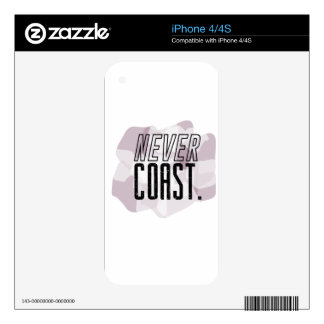 never coast skin for iPhone 4S