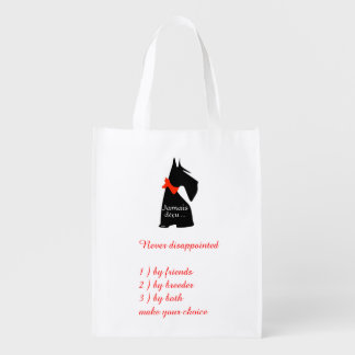 Never disappointed reusable grocery bag