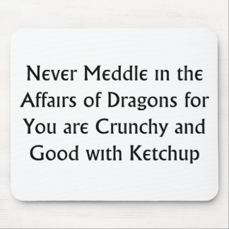 Never Dragons Mouse Mats