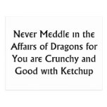 Never Dragons Postcard