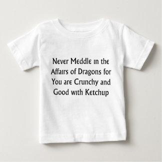 Never Dragons T Shirt
