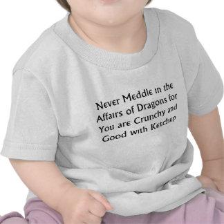 Never Dragons Tshirt