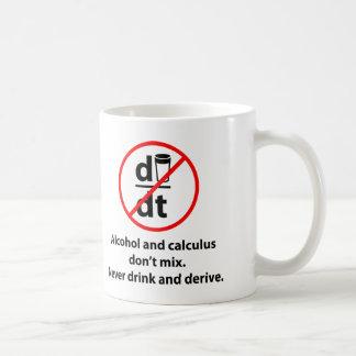 Never Drink And Derive Coffee Mug